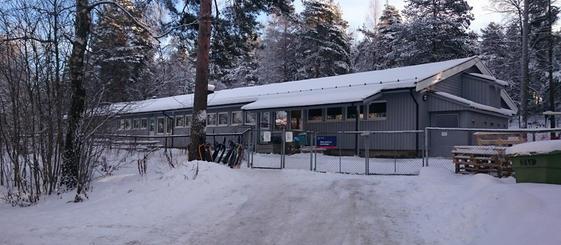 Inngangsparti Bøler sentrum barnehage
