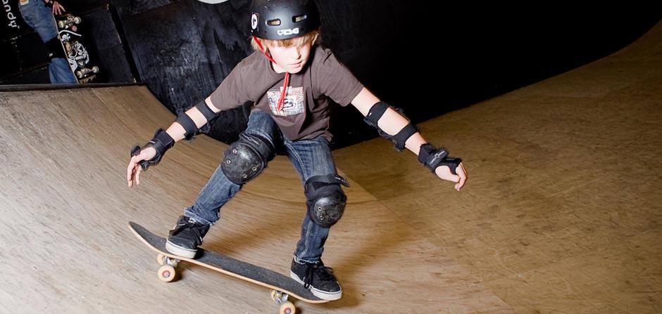 Haugenstua skatehall