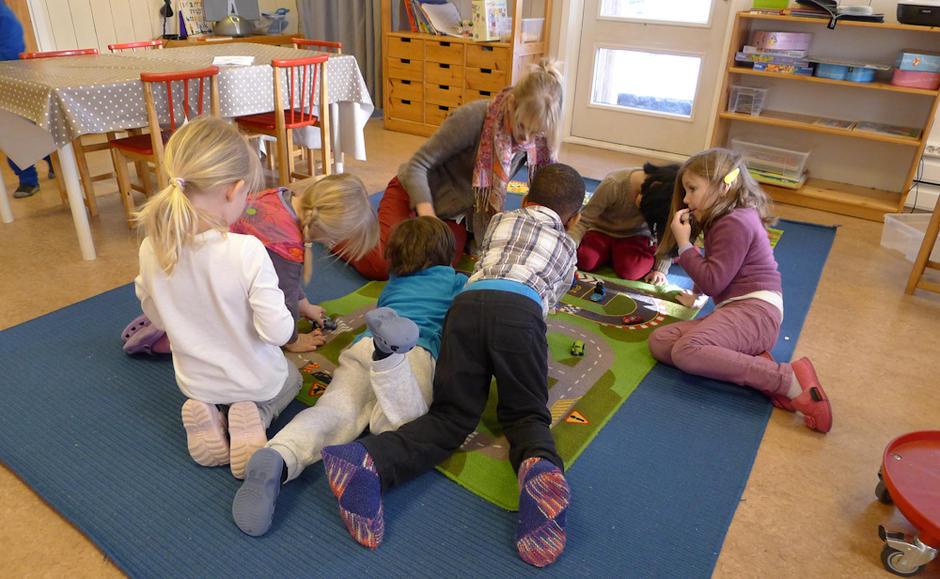 Skillebekk barnehage - innebilde