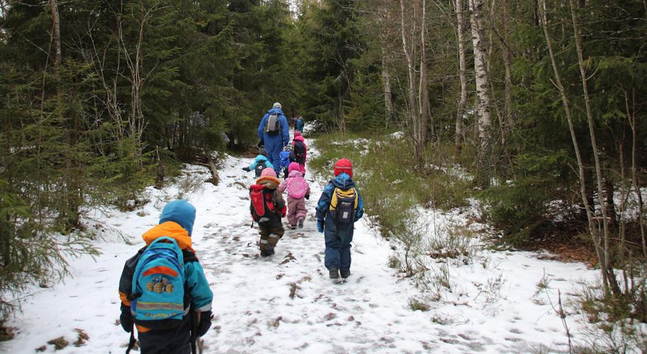 Skogkanten Barnehage - utebilde
