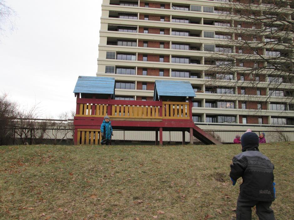 Smalvollskogen barnehage - utebilde
