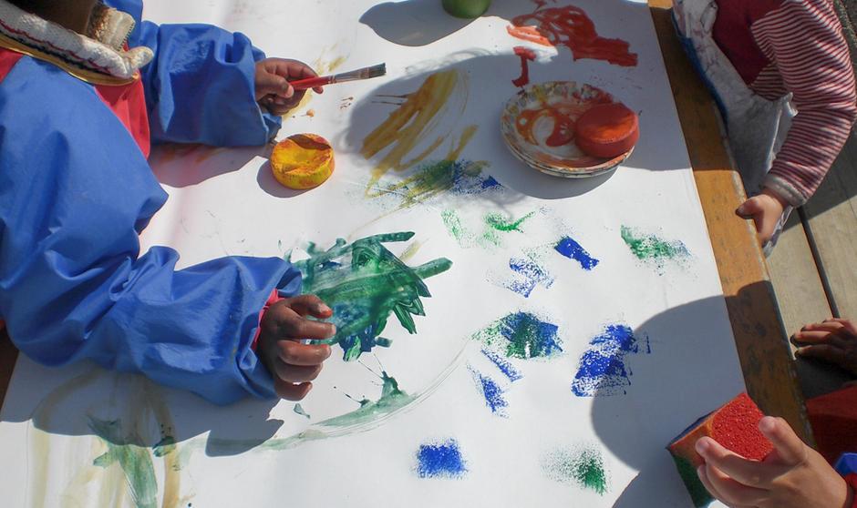 Solfjellet barnehage - utebilde