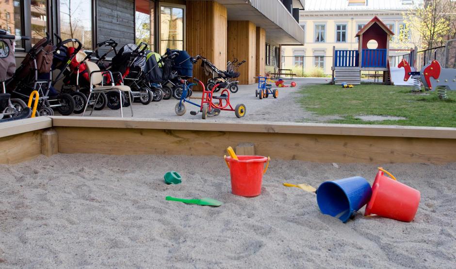 Sommerfryd barnehage - utebilde