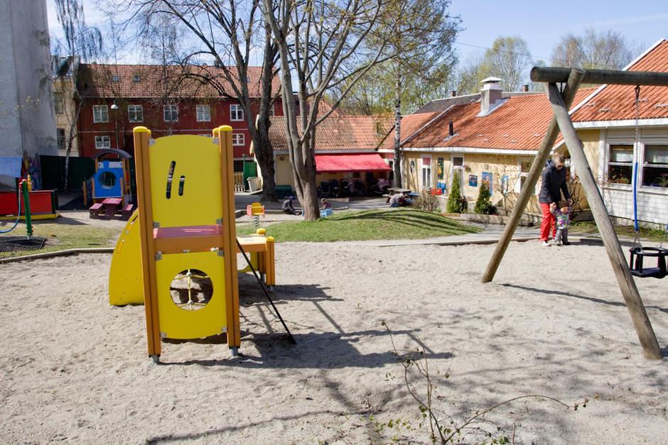 Sotamyggen barnehage - utebilde