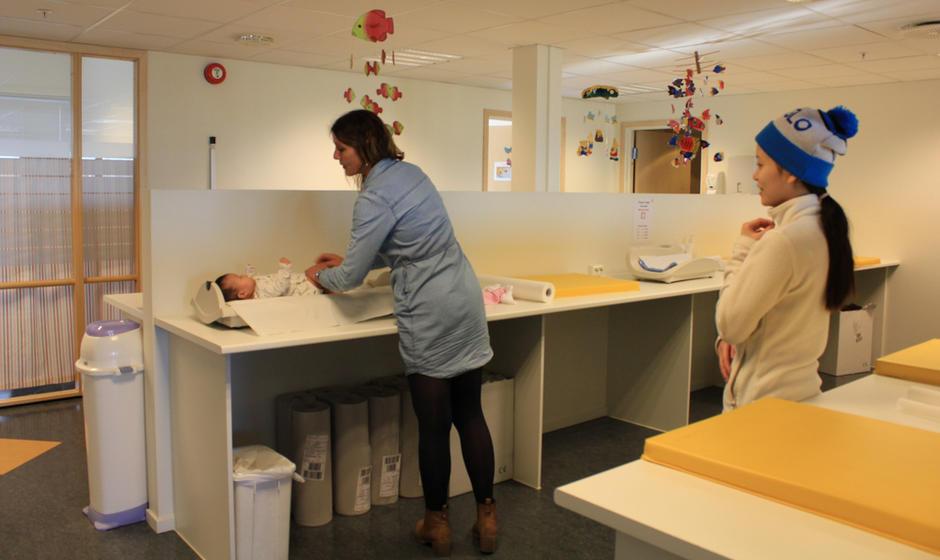 Helsestasjon for barn 0-5 år