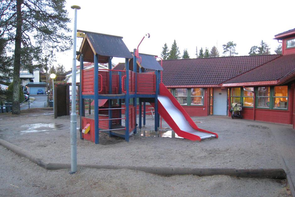 Tjernveien barnehage - utebilde