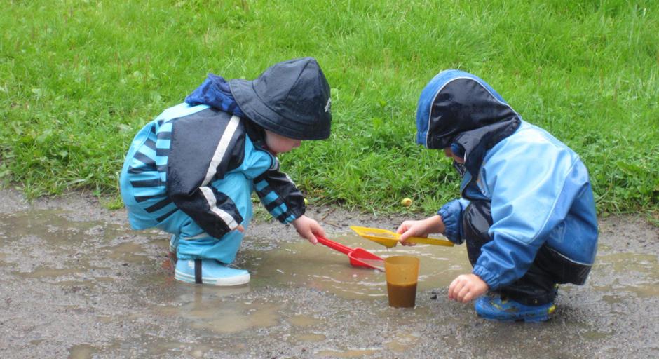 Trøste og bære barnehage - utebilde