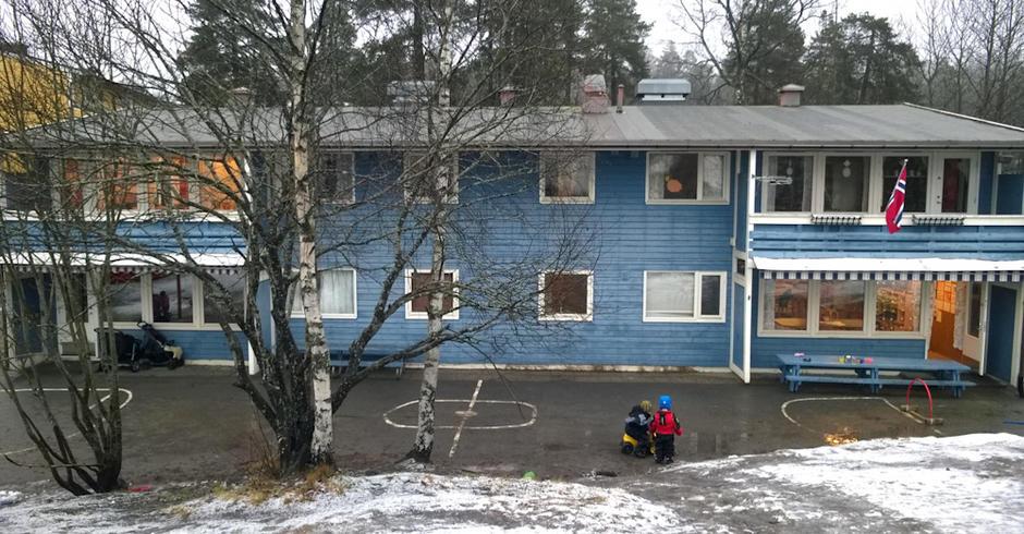 Vestlikollen barnehag - utebilde