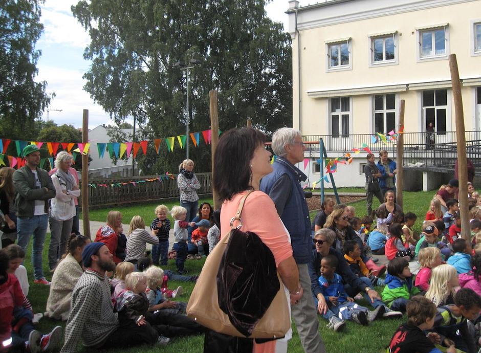 Åkeberg barnehage - utebilde