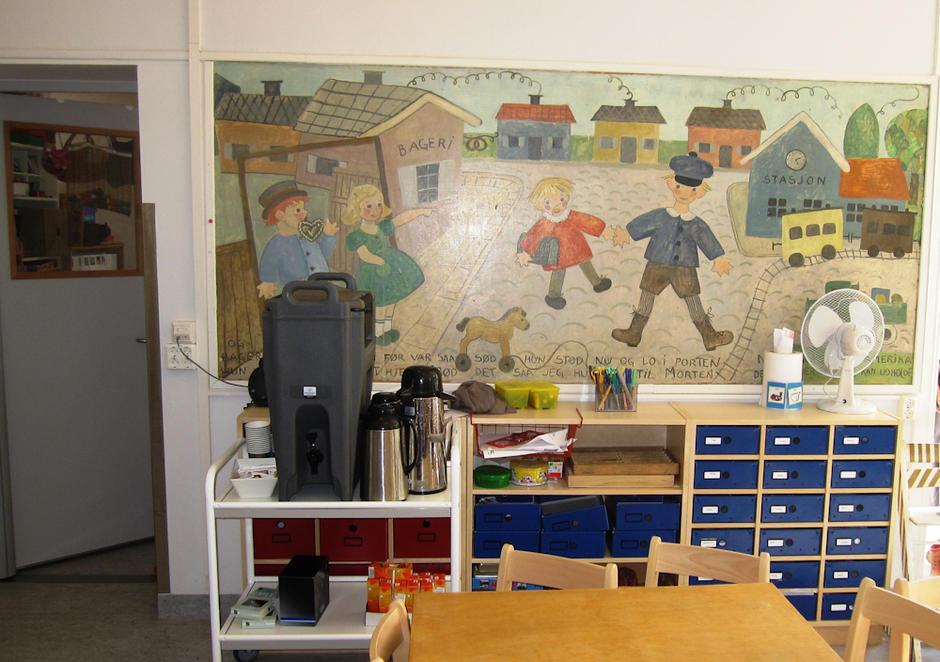 Åkeberg barnehage - innebilde