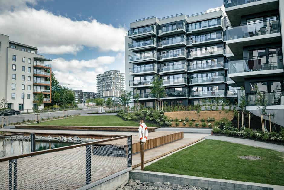 Stålverksparken & Vestre bekkedrag som ble åpnet offisielt åpnet 26. mai 2016