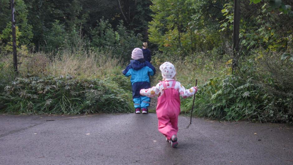 Økernveien familiebarnehage, avd. Veksthusfløtten - utebilde