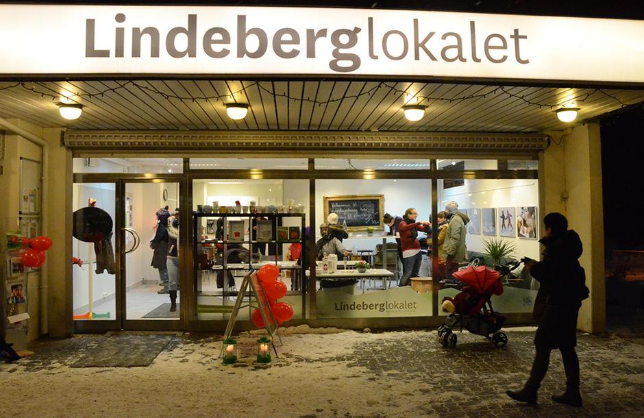 Lindeberglokalet er blitt en populær møteplass i Områdeløft Lindeberg
