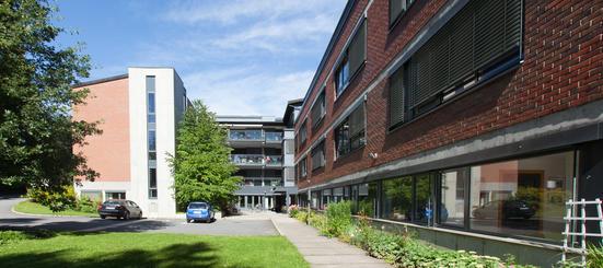 Bilde av fasaden til Nordberghjemmet