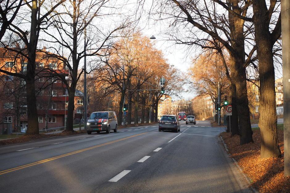 Vi planlegger for trikk, sykkel og trær på Ring 2 fra Majorstuen til Carl Berners plass.