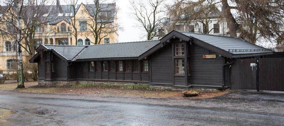 Bjørnehuset på St. Hanshaugen sett utenfra
