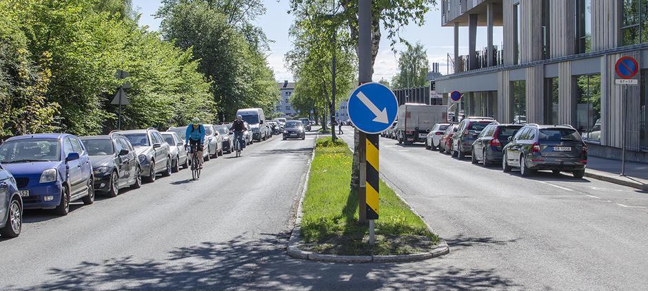 Stavangergata tilrettelegges for syklene