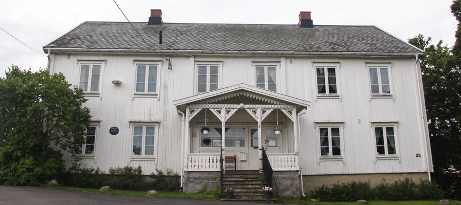Fasade Lamberseter gård