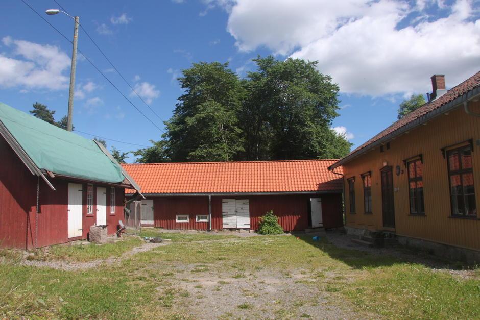Gammel skolebygning