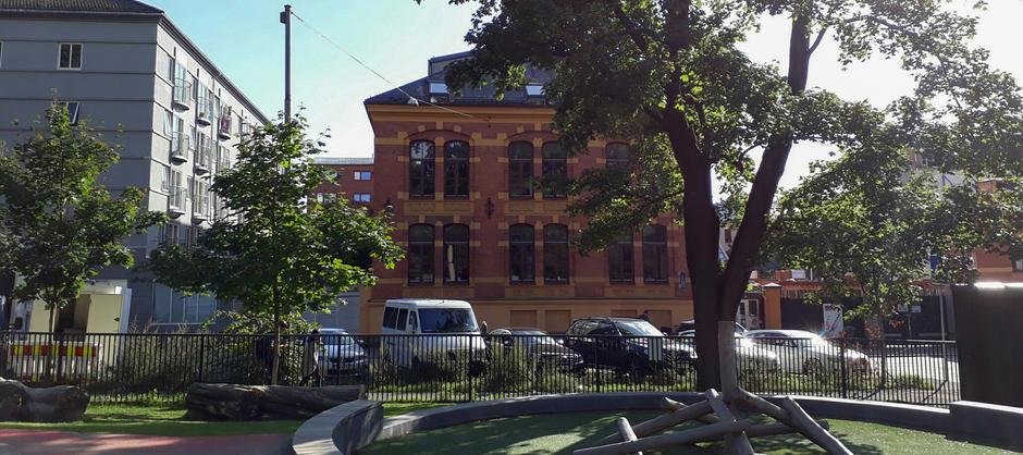 Sjokoladefabrikken barnehage er lokalisert i Cloettas gamle lokaler.