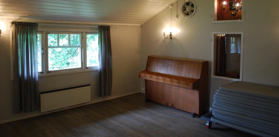 Hovedrom med piano