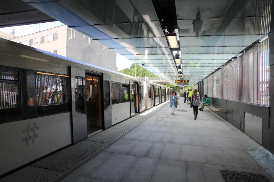 19. juni 2013 fikk Ensjø ny T-bane