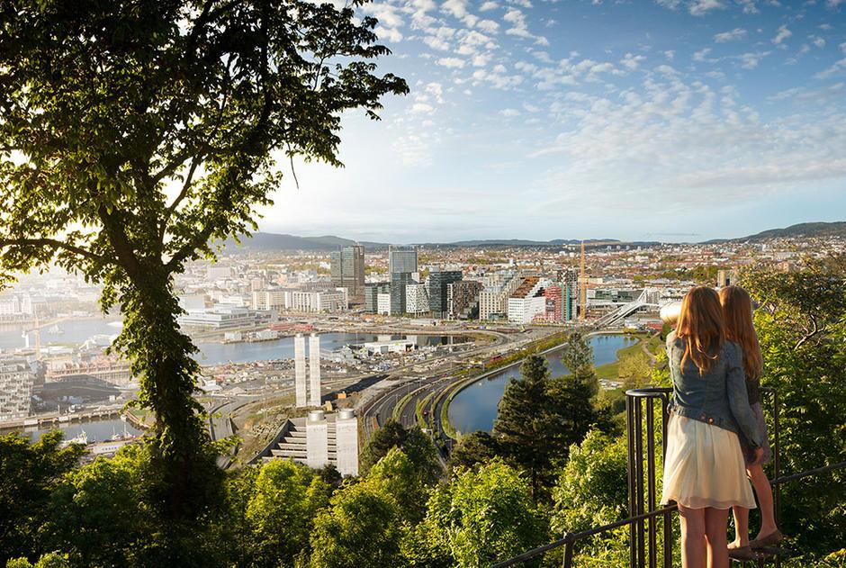 Strategi for et bærekraftig og sirkulært forbruk på høring. Bilde av Oslo.