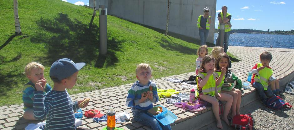 Turdag i Den tyske barnehagen i Oslo