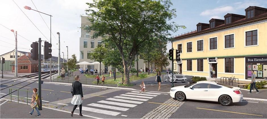 Planen prioriterer fremkommelighet og trafikksikkerhet for gående og syklende.