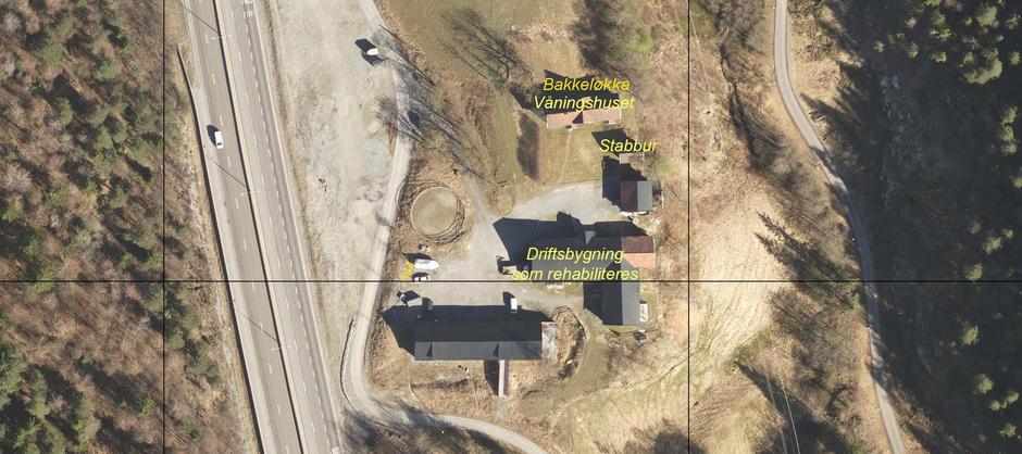 Flyfoto av eiendommen