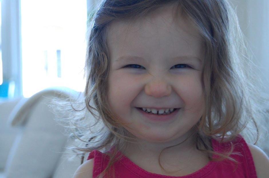 Barn som smiler
