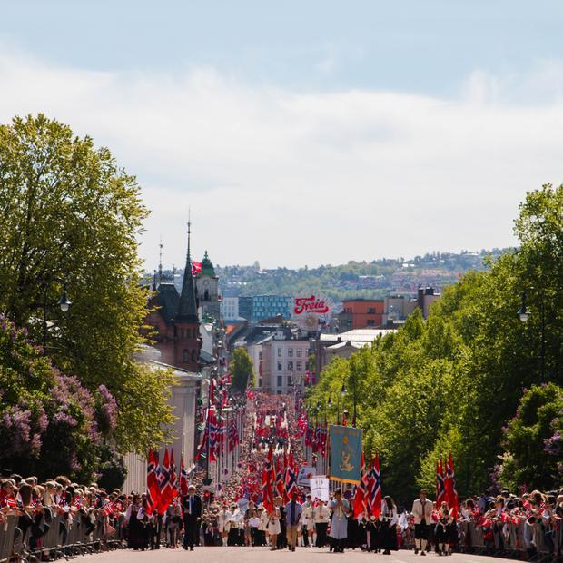 Barnetoget på Karl Johann. Foto: Maja Jansson/Utdanningsetaten