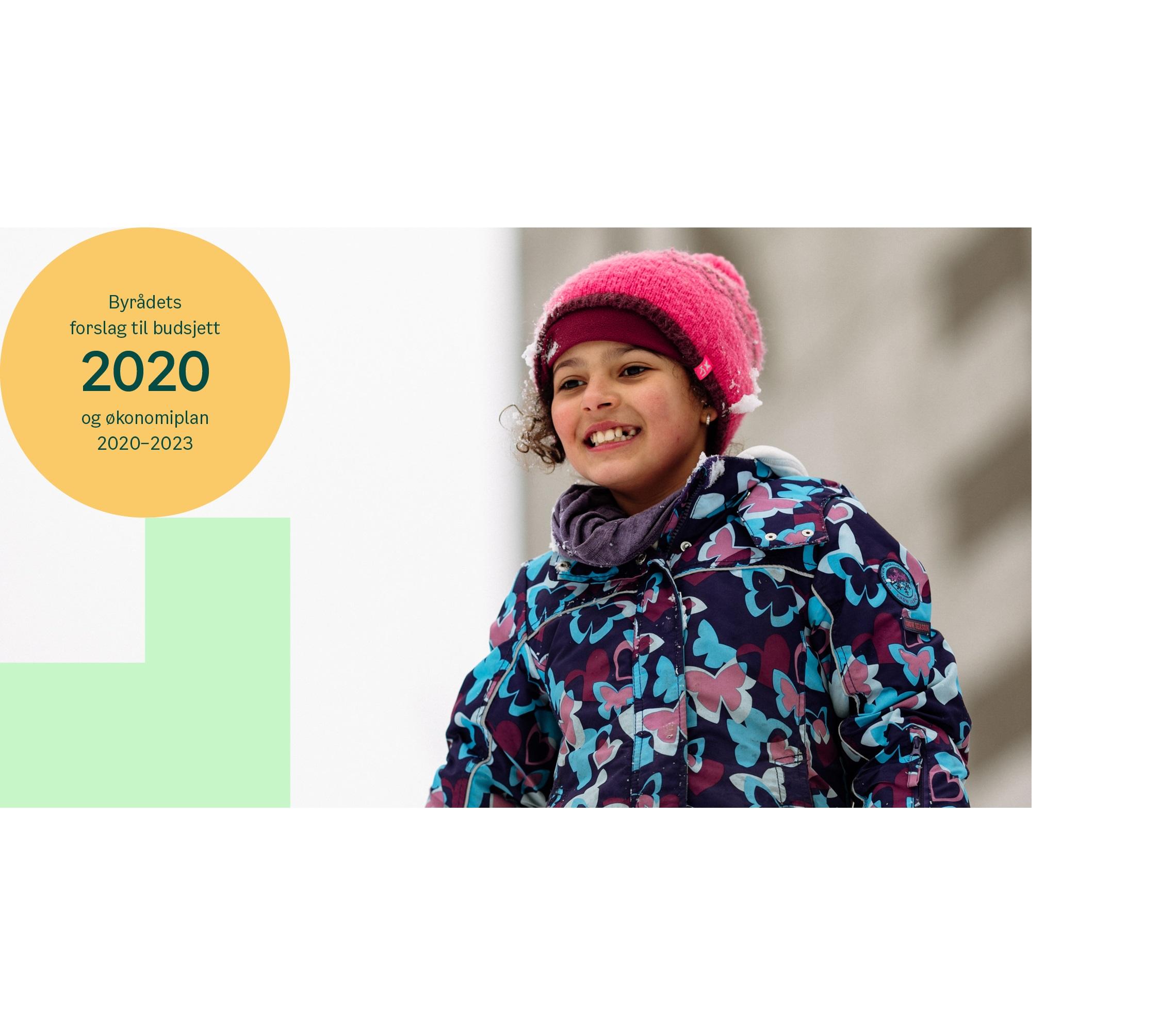 illustrasjonsbilde, byrådets forslag til budsjett og økonomiplan 2020