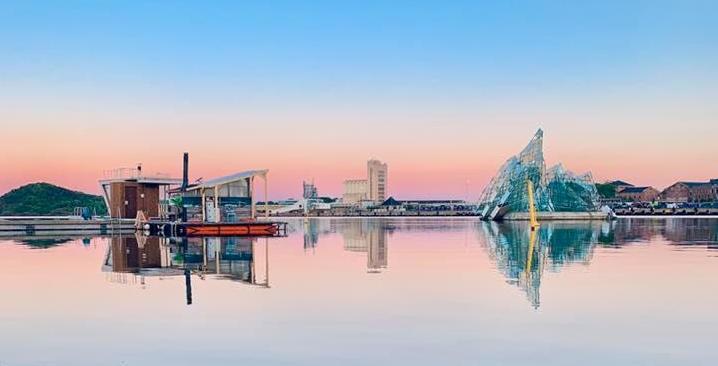 Oslo sett fra sjøen. Foto: Benjamin Pham
