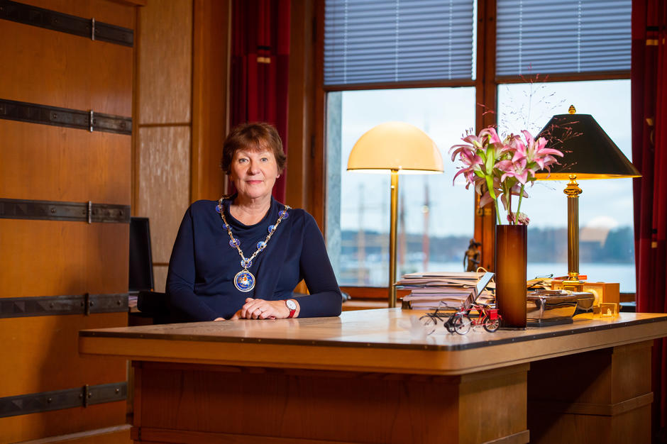 The Mayor of Oslo, Marianne Borgen