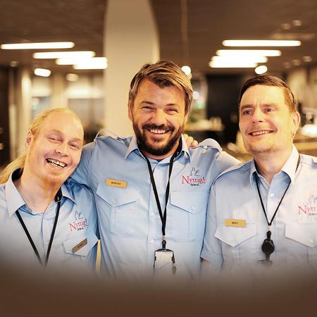 Nyttig Arbeid ansatte