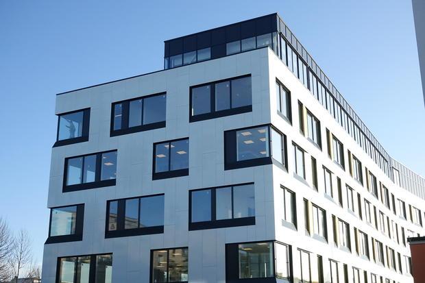 Fasade Nordstrand bydelshus