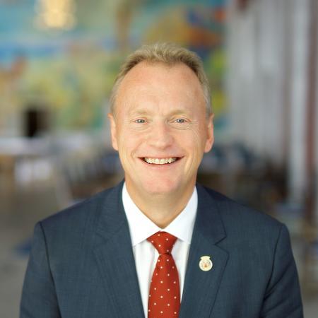 Byrådsleder Raymond Johansen (Foto: CF-Wesenberg/kolonihaven)