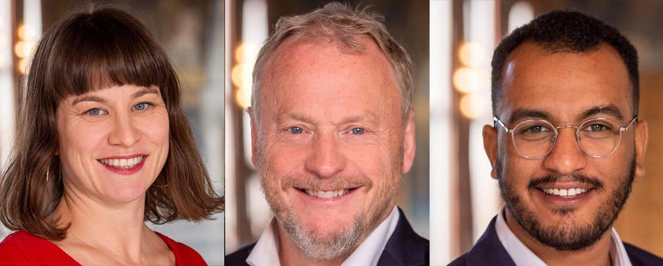 Rina Mariann Hansen, Raymond Johansen, Omar Samy Gamal