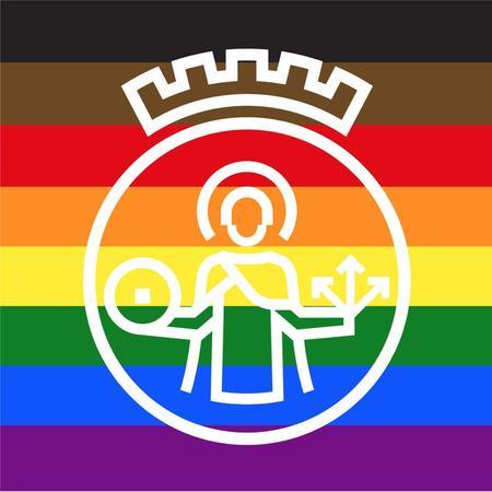 Oslo logo regnbue
