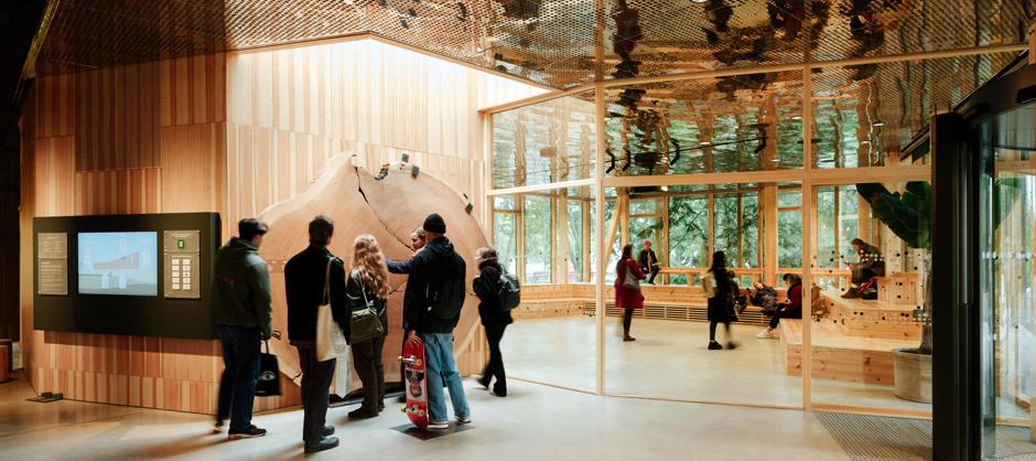 Klimahuset i Botanisk hage