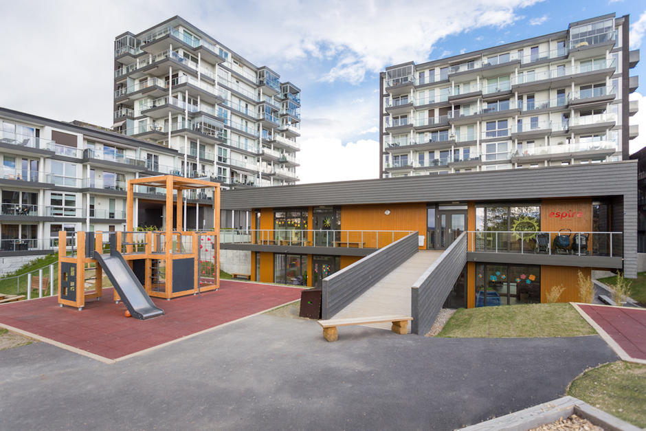 Espira Torshovdalen barnehage - utebilde