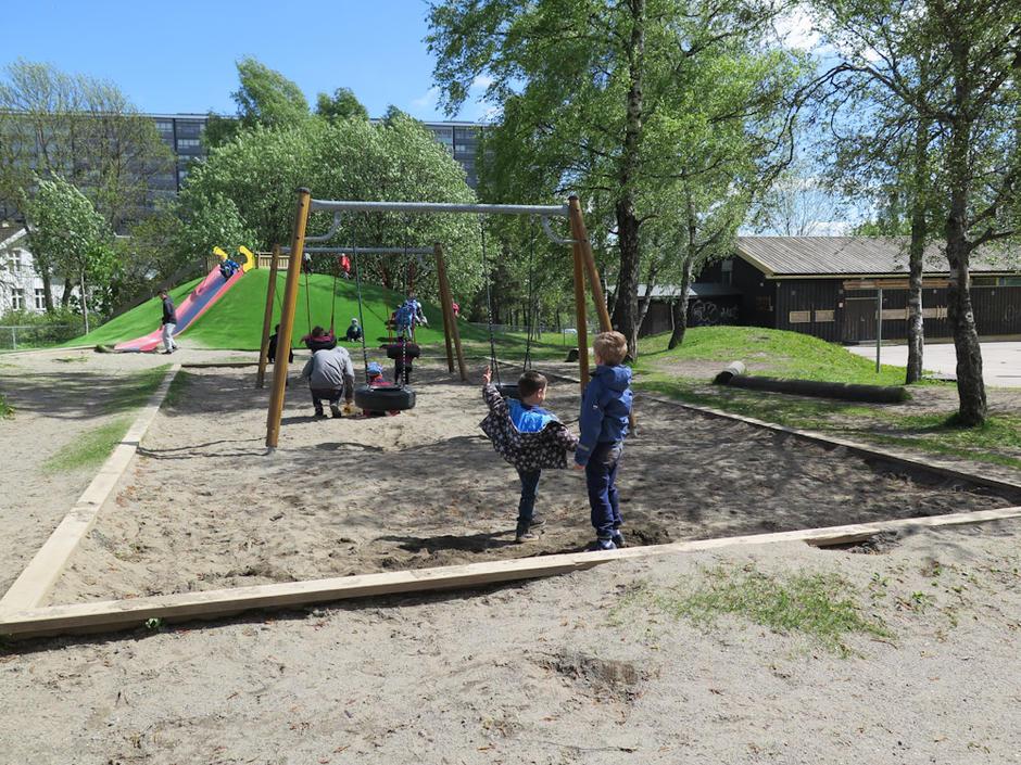 Ammerudenga barnehage - utebilde