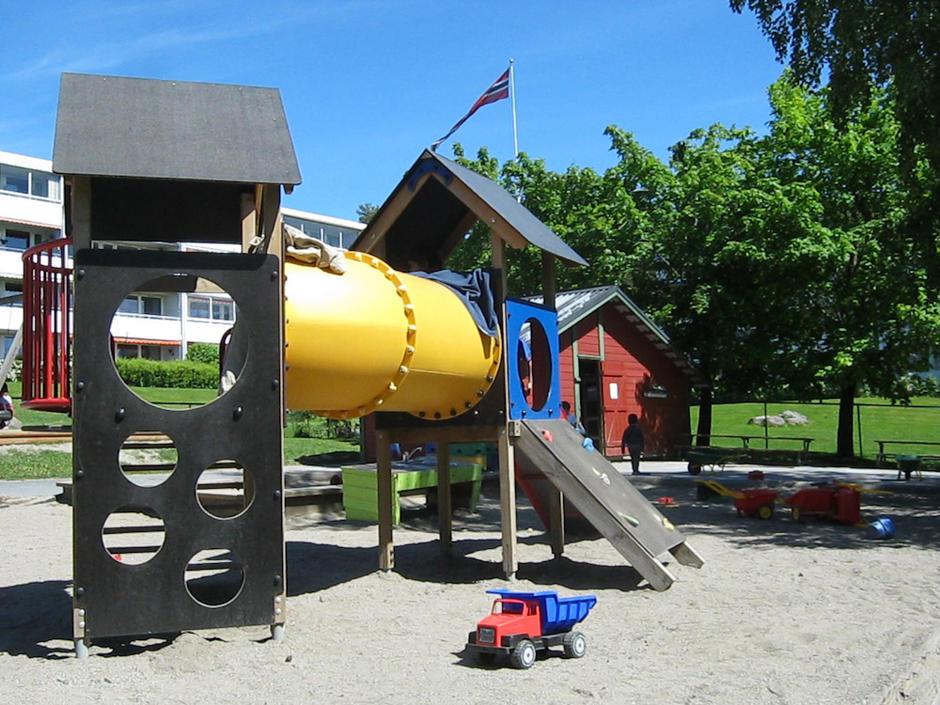 Sandbakken barnehage - utebilde