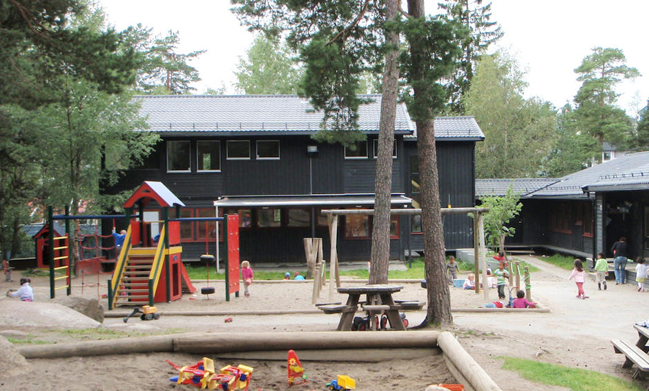 Ammerudkollen barnehage - utebilde