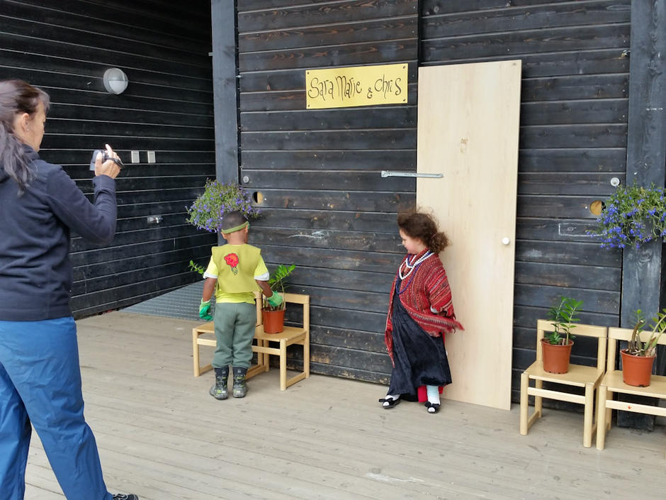 Skrubbelund barnehage - utebilde