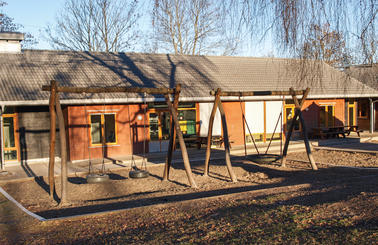 Vårveien barnehage - utebilde