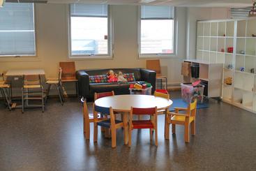 Åpen barnehage Bjerke Familiesenter - innebilde