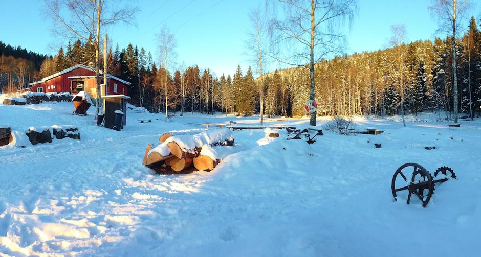 Bydel Bjerke - Isdammen vinter