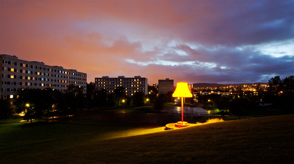 Storstua - Verdens største stålampe